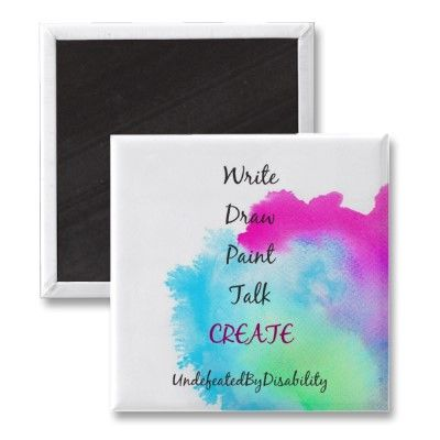 Write Draw Paint Talk Create Magnets