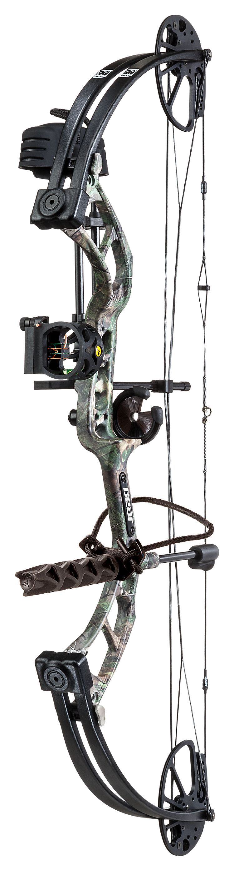 Bear archery cruzer rth ready to hunt compound bow for Compound bow fishing