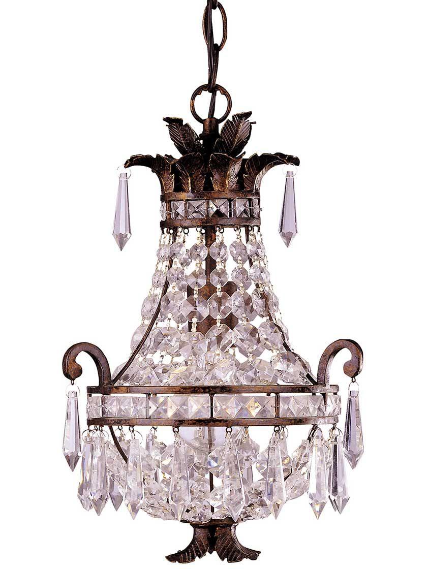 Orleans mini chandelier antique hardware mini chandelier and