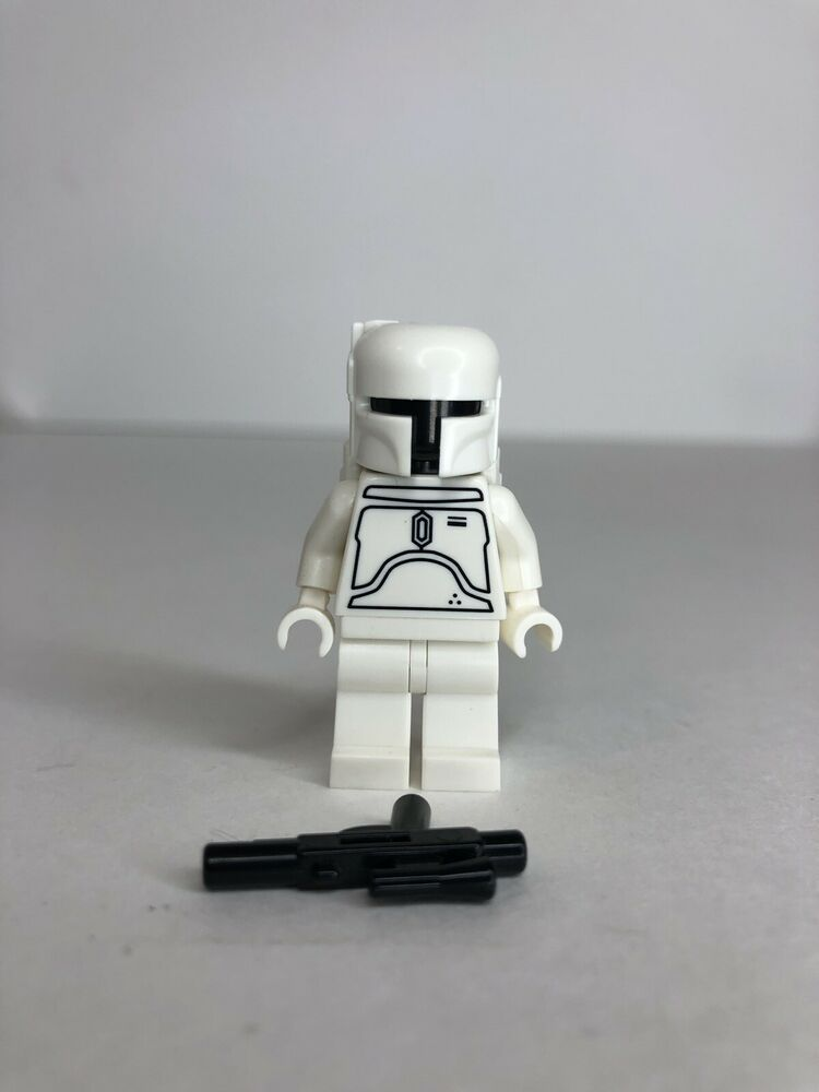 Lego Star Wars White Boba Fett Minifigure Ltd Edition 30th