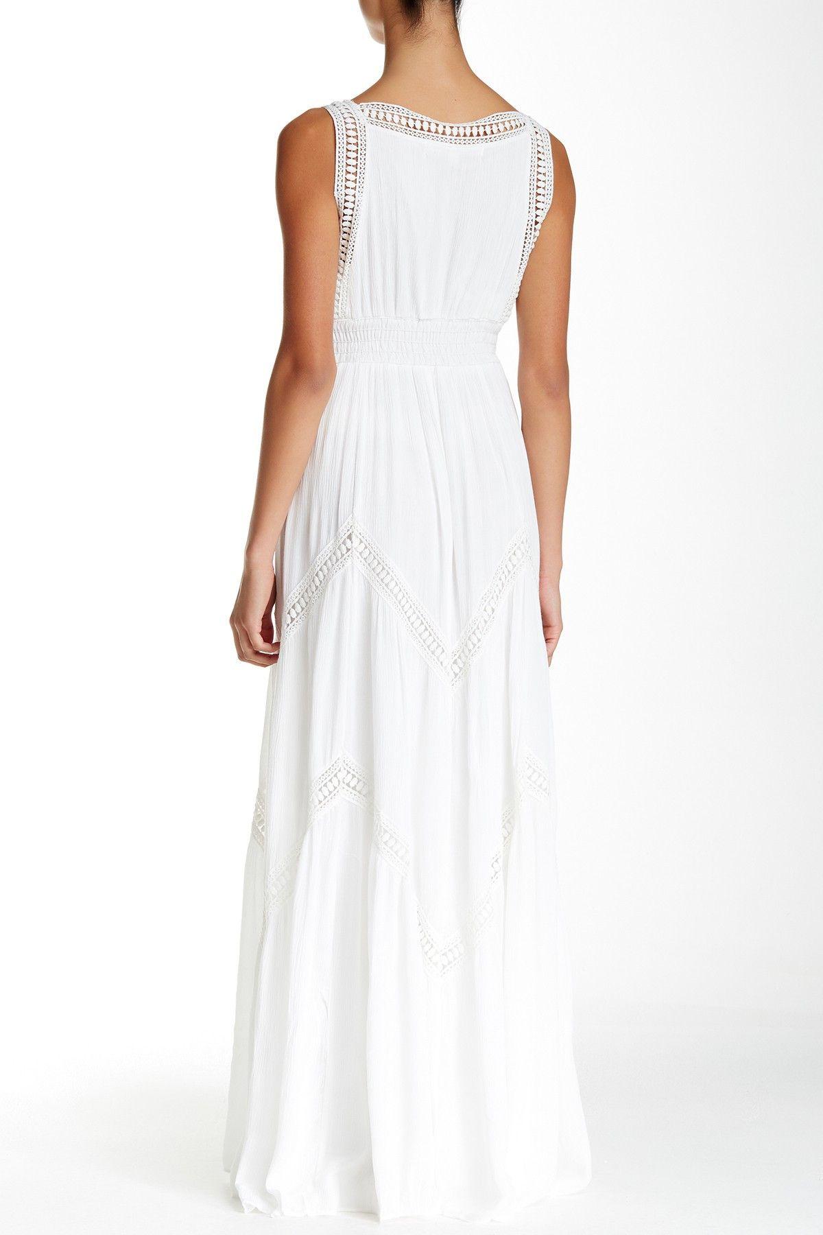 Max Studio Sleeveless Crochet Trim Maxi Dress Nordstrom Rack Maxi Dress Nordstrom Dresses Dresses [ 1800 x 1200 Pixel ]
