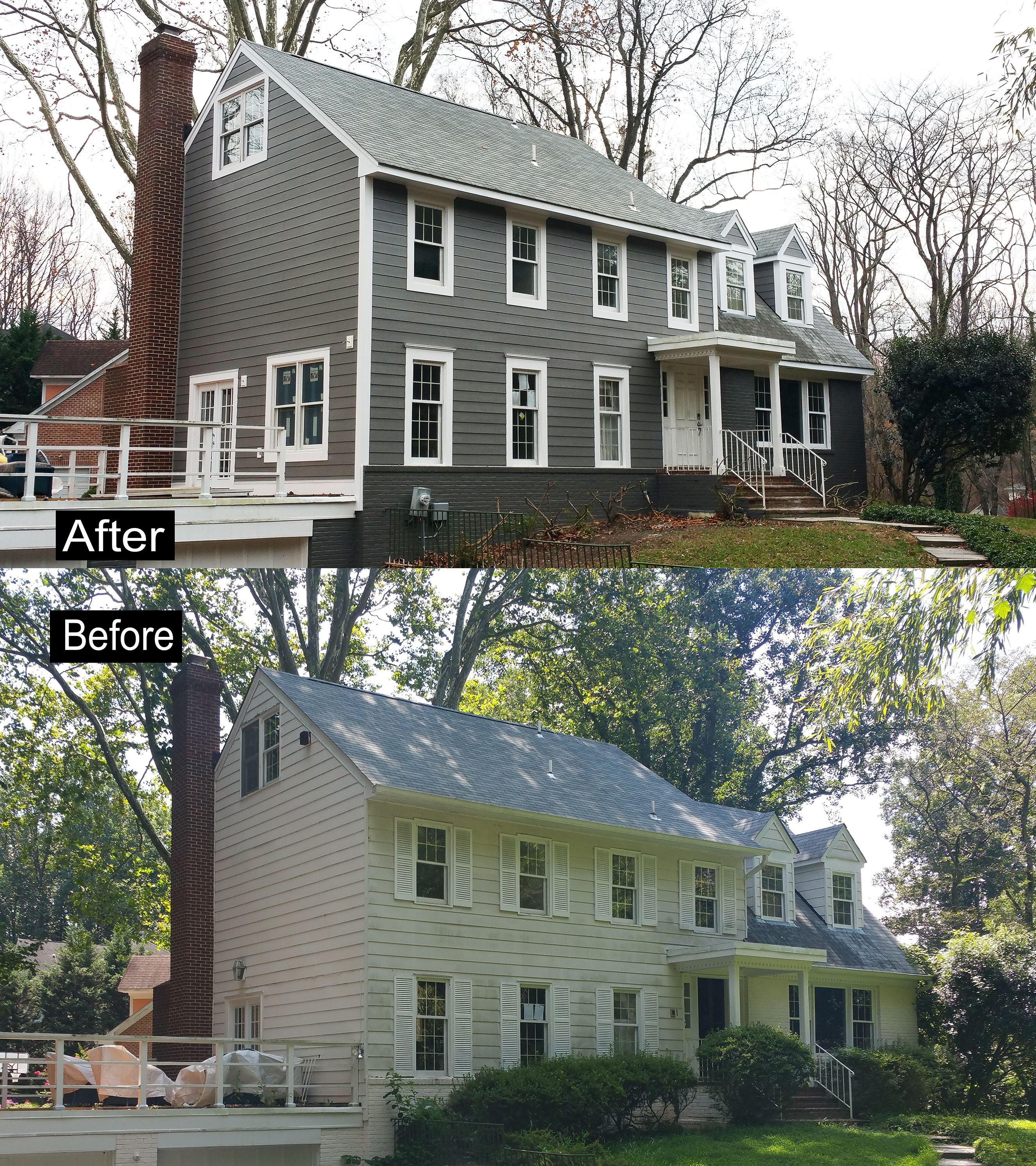 Work Closely With Customer On This James Hardie Hardieplank Siding Project We Install Dupont