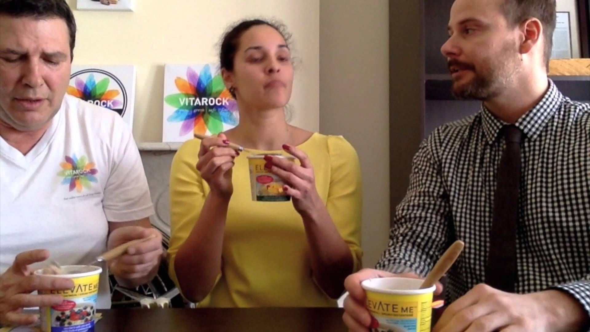 Video product review for Elevate Me Instant Oatmeal.