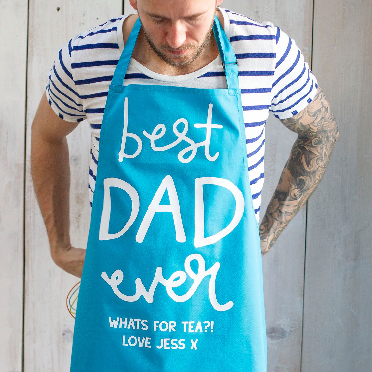 Custom Cooking Apron Gift for Dad - First Fathers Day Gift - Father ...