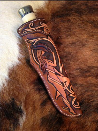 Image Result For Tooled Leather Knife Sheath Knife