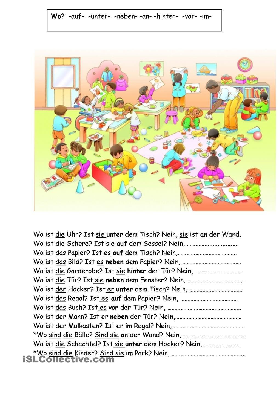 Pin by Вера Петрова on Arbeitsblätter | Pinterest | German, Deutsch ...