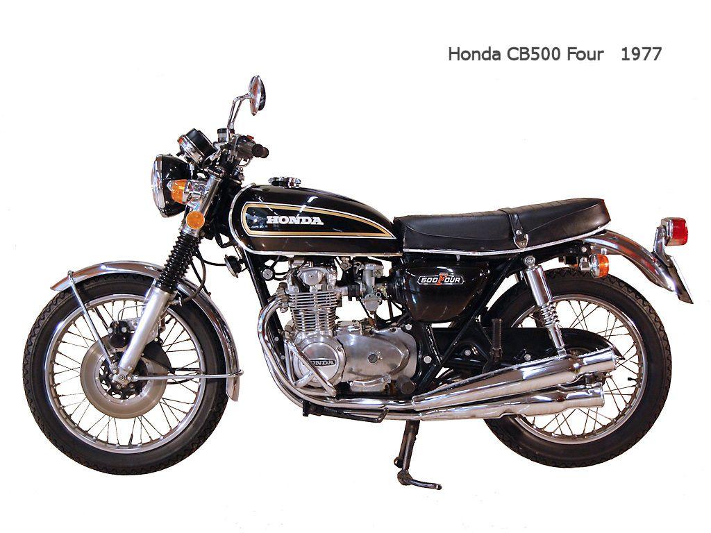 Honda cb 500 four 1977