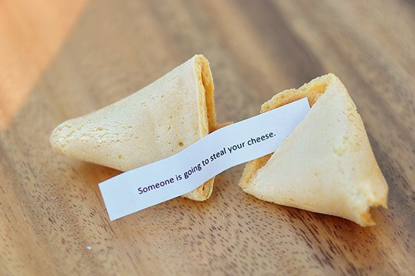 Bought Fortune Cookies With Your Own Message You Could Also Dip Half Of The Cookie In Chocolate And Adorn Sprinkles