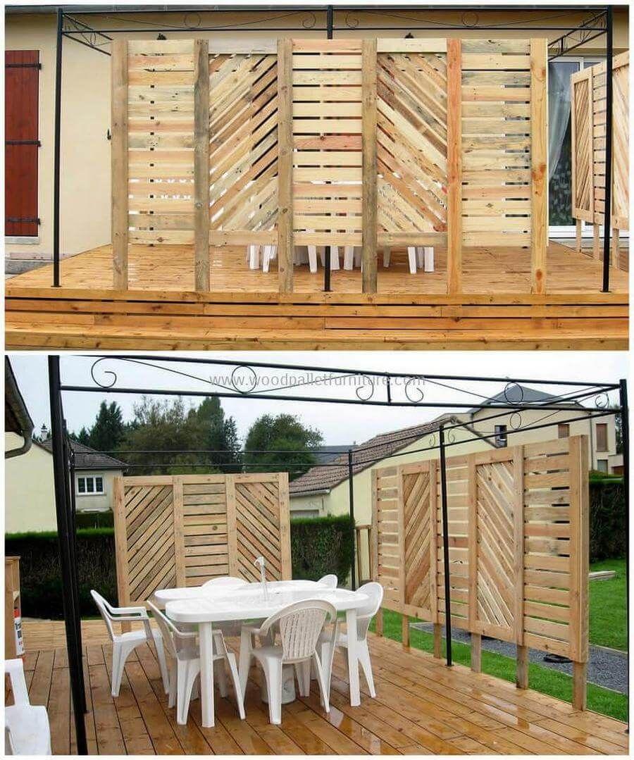 60 diy ideas for wood pallet garden terrace outdoor restaurant