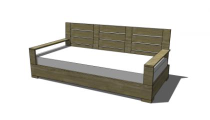 Free Diy Furniture Plans To Build An Indoor Outdoor Belvedere Small Sofa Mebel Dan Kursi