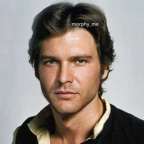Young Han Solo Alden Ehrenreich Harrison Ford With Images