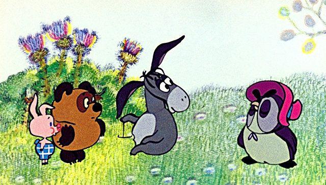 Кадр из мультфильма Винни-Пух и день забот, 1971 год