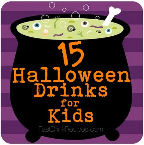 15 halloween drinks for kids fast drink recipes