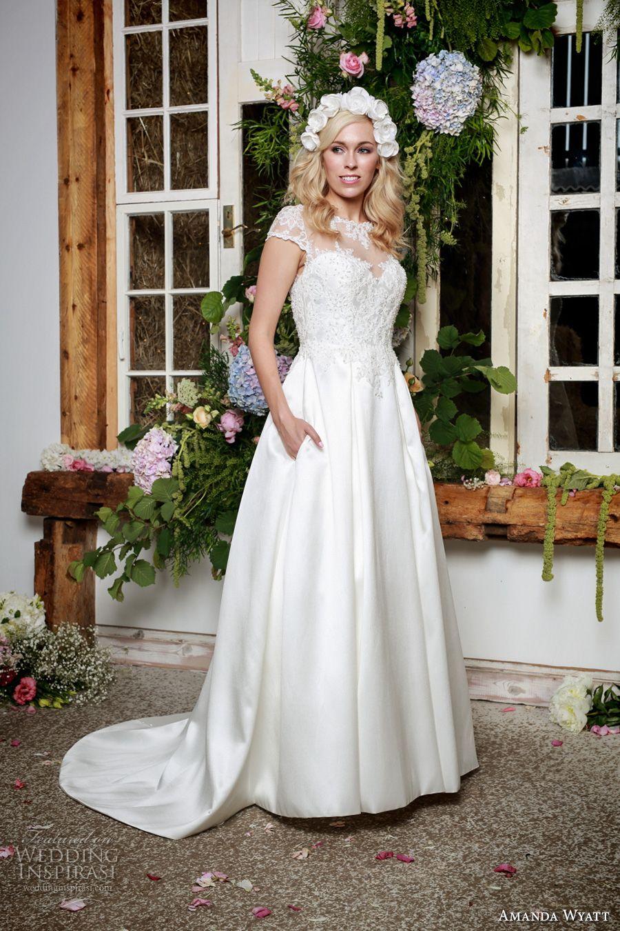 Amanda wyatt ucshe walks with beautyud bridal collection amanda