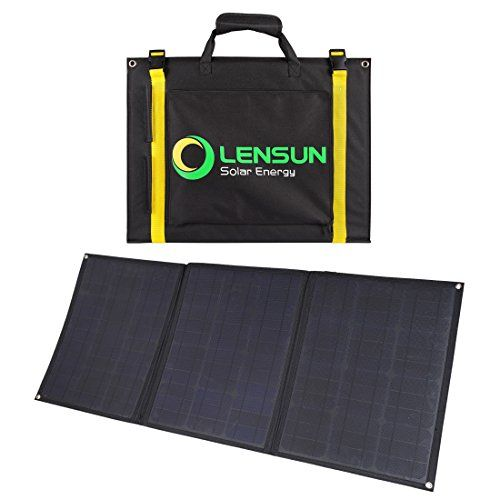 Lensun 100w 12v Ultralight Folding Solar Panel Complete Kit With Usb Port Solar Controller And Cables Flexible Solar Panels Solar Panels Solar Panels For Home