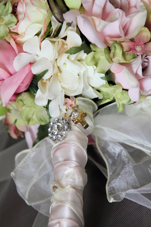 Silk Wedding Bouquet!