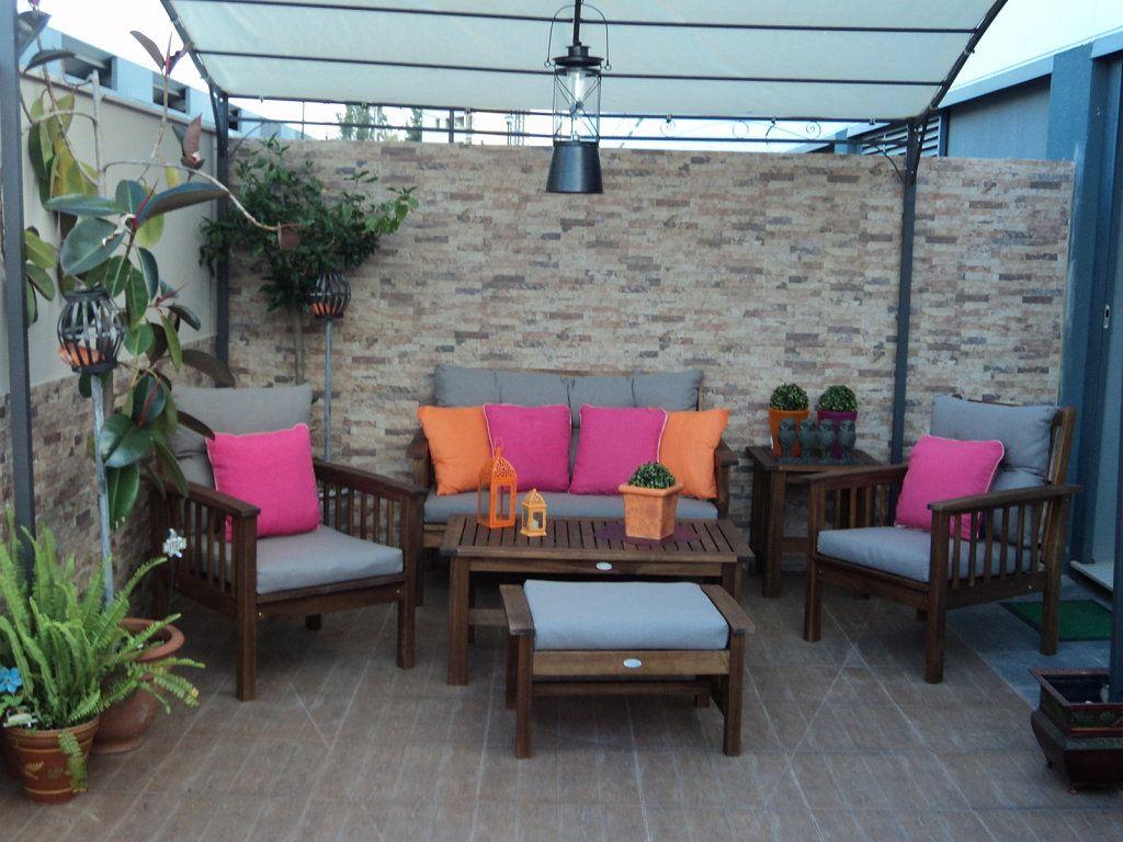 Decorar la terraza el porche el patio patios - Decorar porche pequeno ...