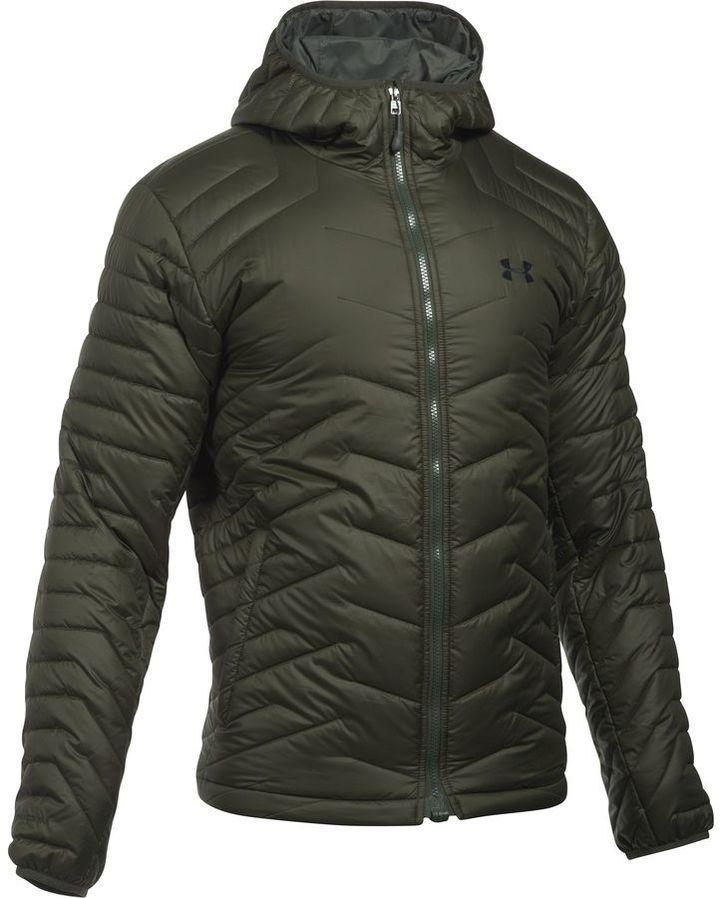 Chapoteo equipo vía  Under Armour Coldgear Reactor Hooded Jacket - Men's   Hooded jacket men, Under  armour men, Mens jackets