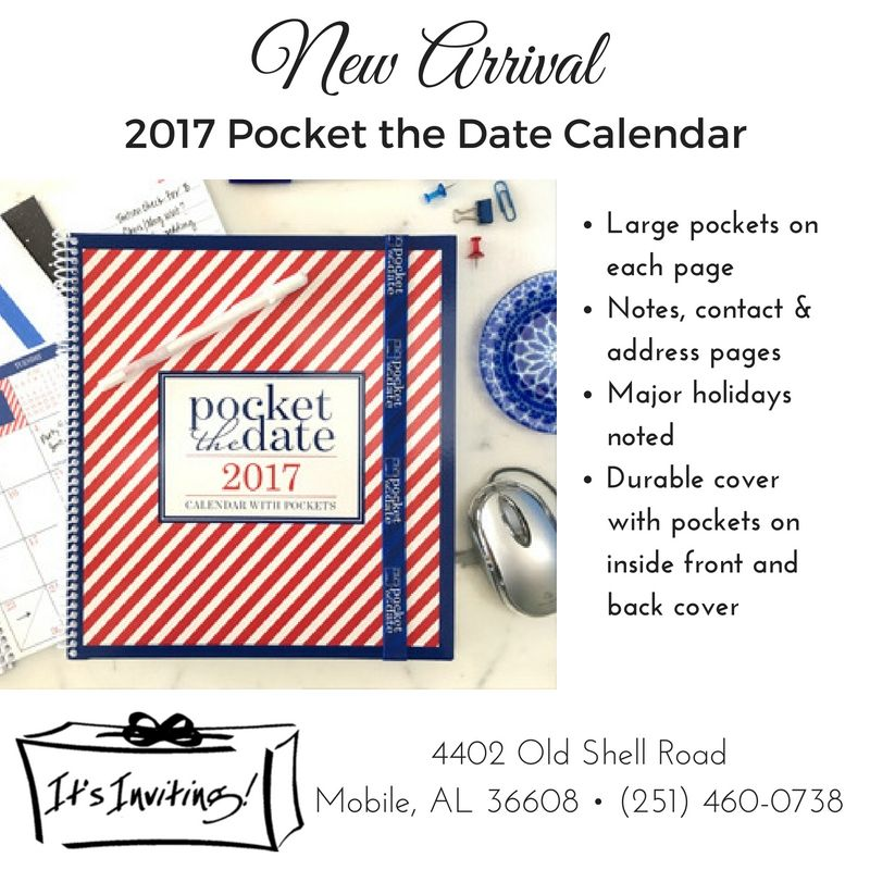 the new jan 2017 to jan 2018 pocket the date calendars are in and are the perfect place for all your planning with pockets on each page and durable covers