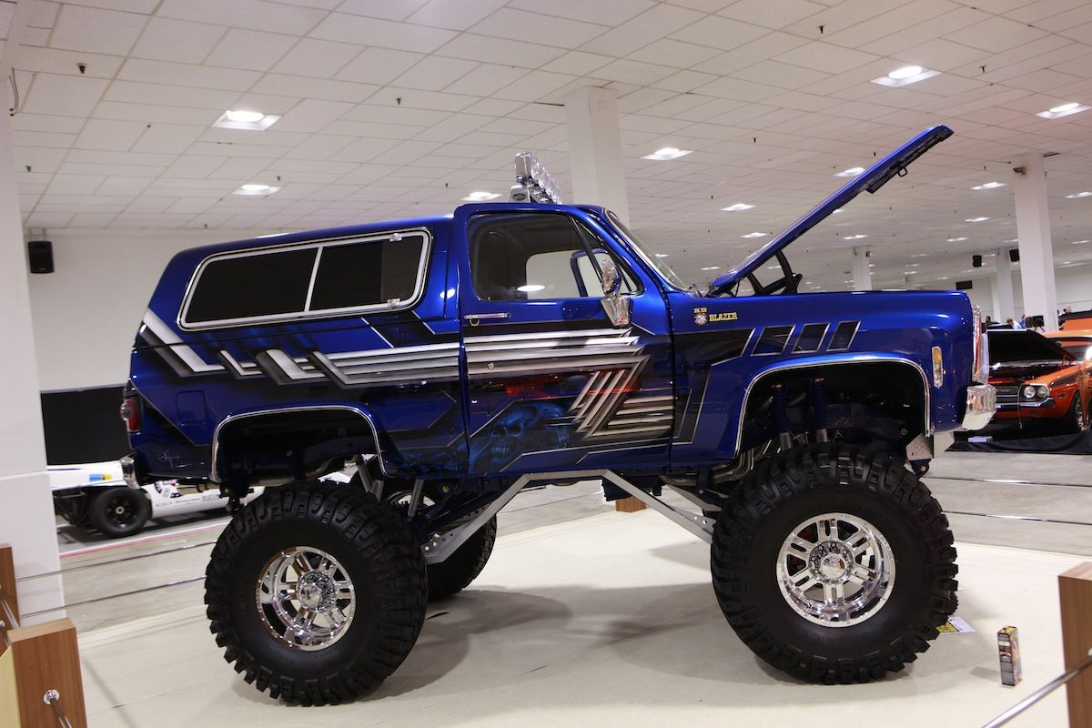 1980 Chevy Blazer Monster Truck 1 Madwhips Animals Chevy