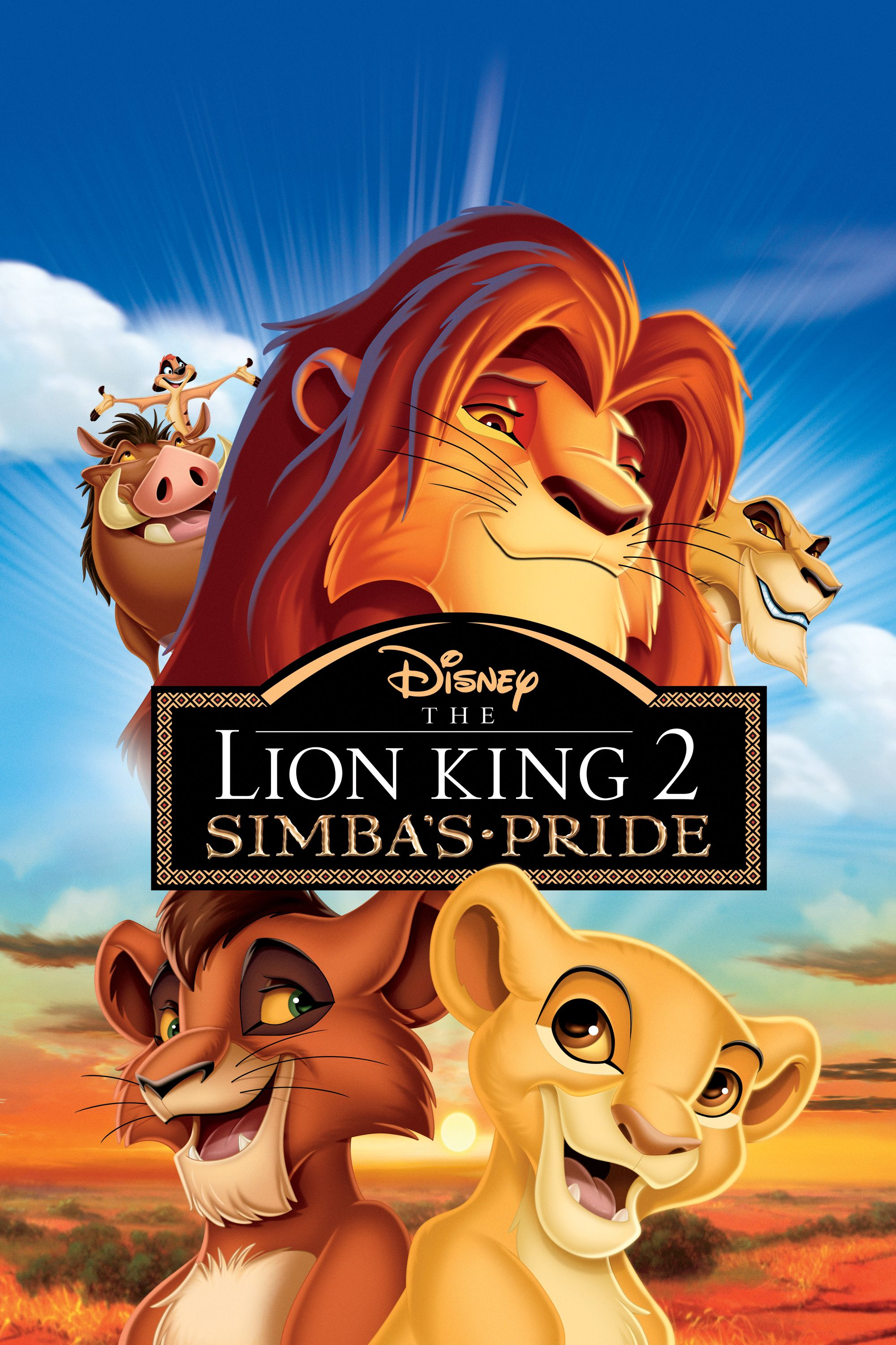 The Lion King Ii Simba S Pride Lion King Movie Lion King Ii
