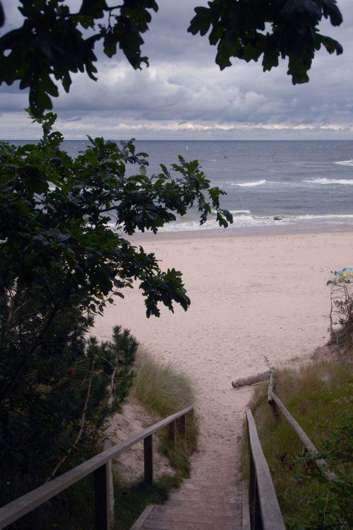 rügen, northern beach