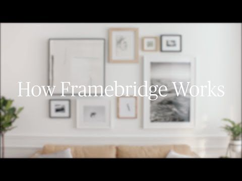 Custom Picture Frames & Online Art Framing - Framebridge | House ...