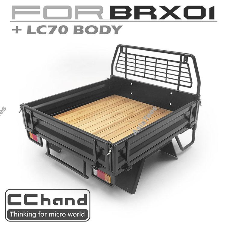 Cchand Boom Racing Brx01 Rear Bed Black Mud Flap Cc D Aa11