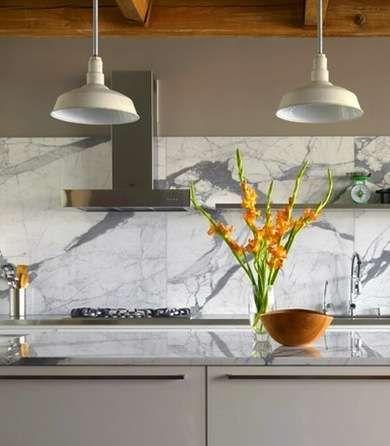 17 Backsplashes for a Unique Kitchen Marbles, Kitchens and Kitchen