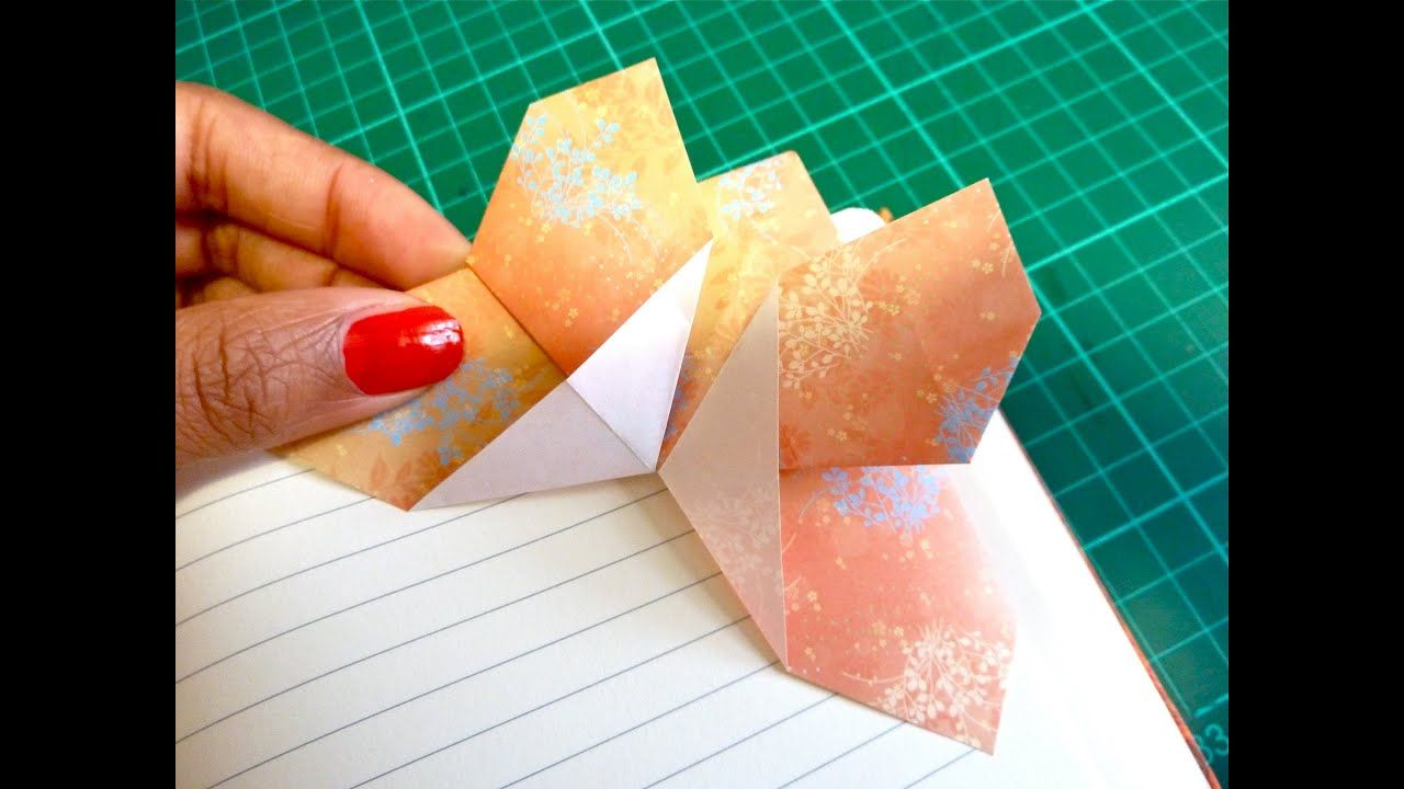 Paper Butterfly making instruction - How to make an origami ... | 720x1280
