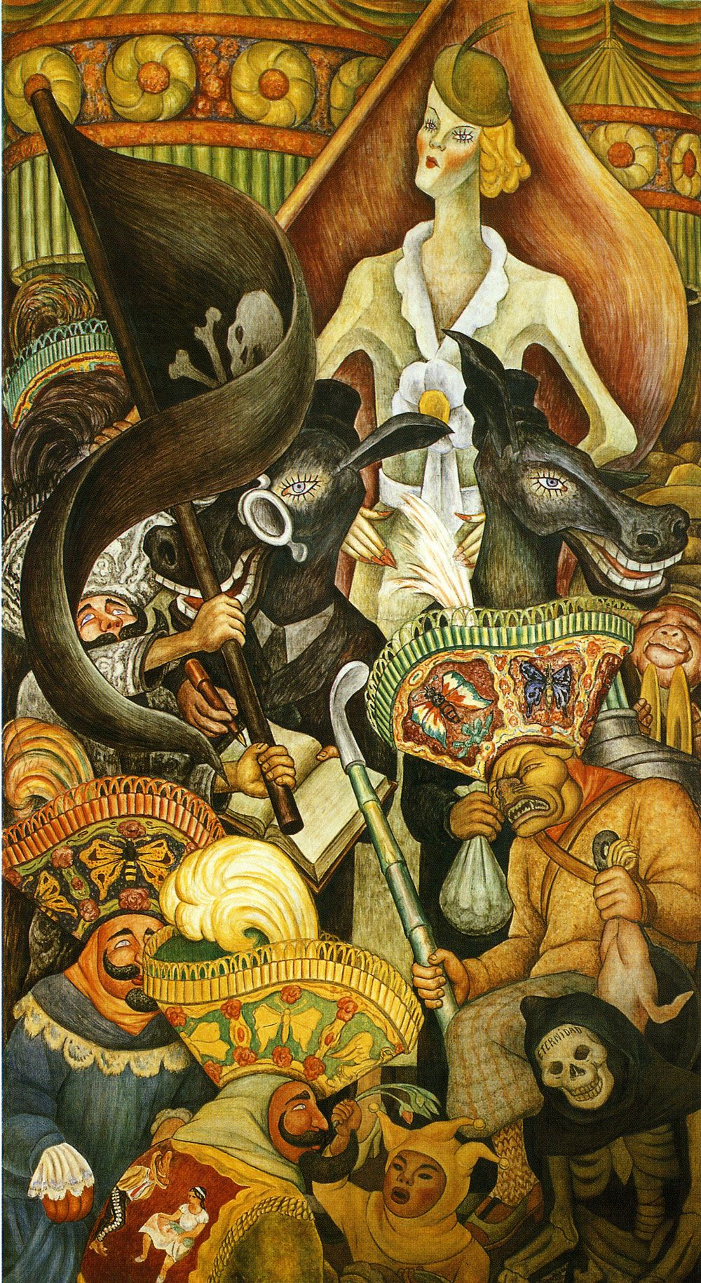 painting by diego rivera essay Portrait of diego rivera and malu block and  expressive critical essay composition of this painting better because your eyes focus on the whole of the painting.