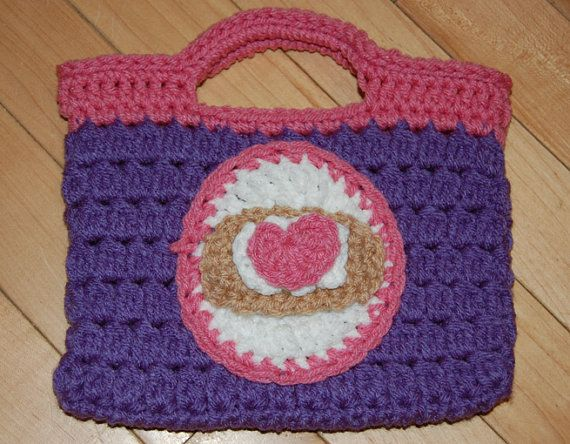Crochet Amigurumi Doc Mcstuffins Doll Pattern : Doc mcstuffins inspired crochet purse by branchscreations on etsy