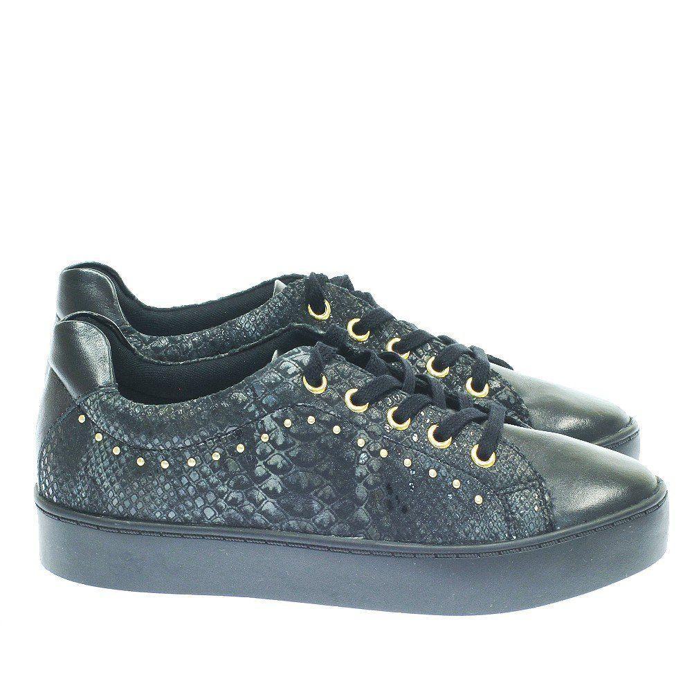 aae6ef0b2 Tenis Casual Studs Preto 10463 Moselle | Moselle sapatos finos online!  Moselle é feminina.