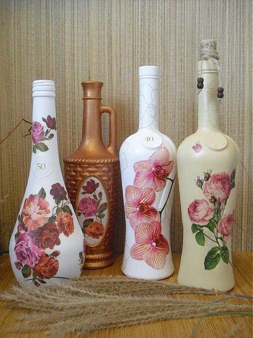 Pin de Julieta von Pierre en ideasvintage Pinterest Botellas