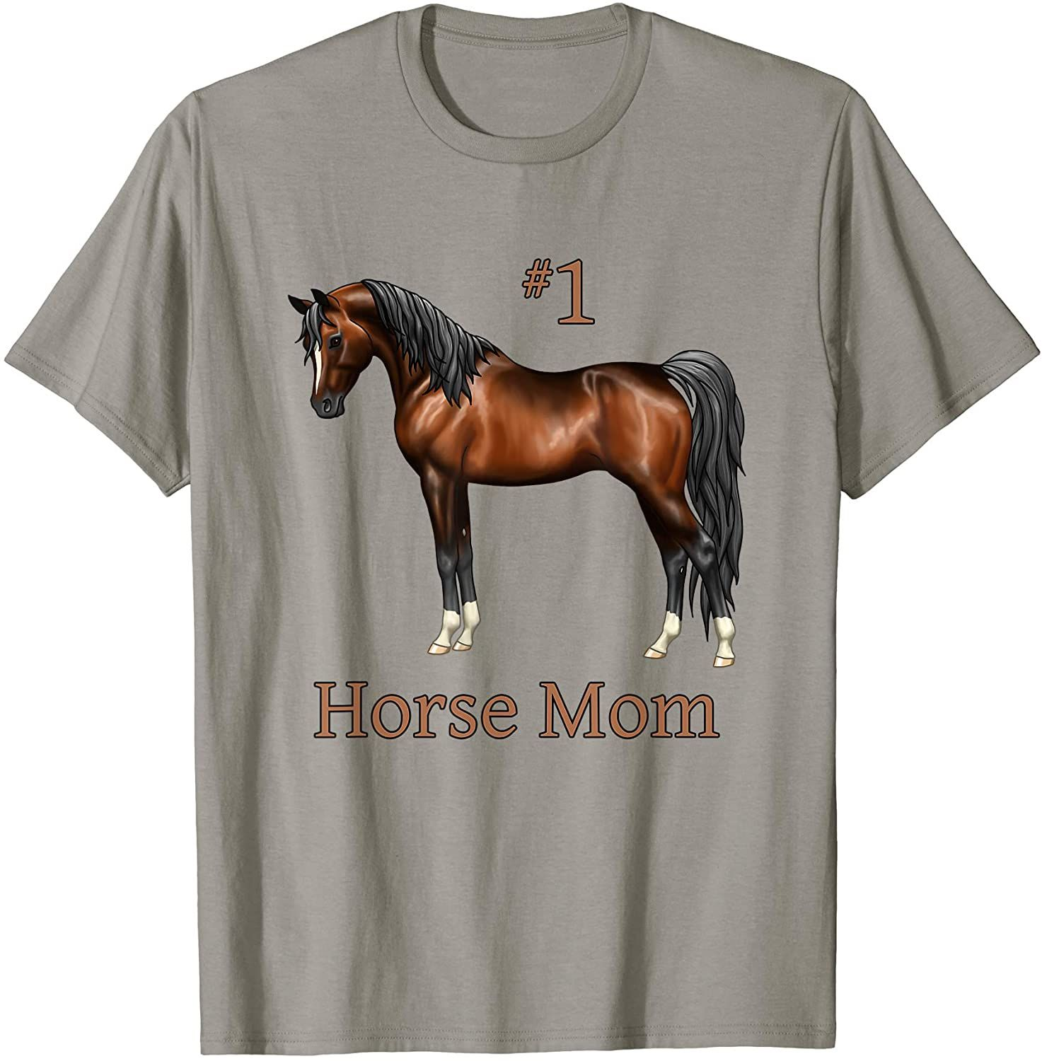 Horse T-shirt My Horse Calls Me Tee Shirt Humor Woman Cotton Organic for Horse Enthusiasts