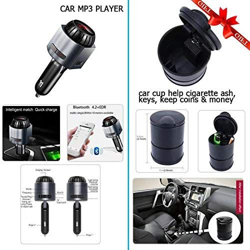 Gizmo Bluetooth FM Transmitter For iPhone/Android | Intelligent USB
