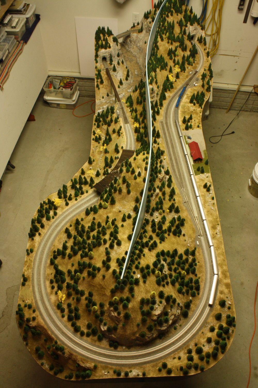 Ho 3 Train Layouts 4x8 Google Search Train Garden Ho
