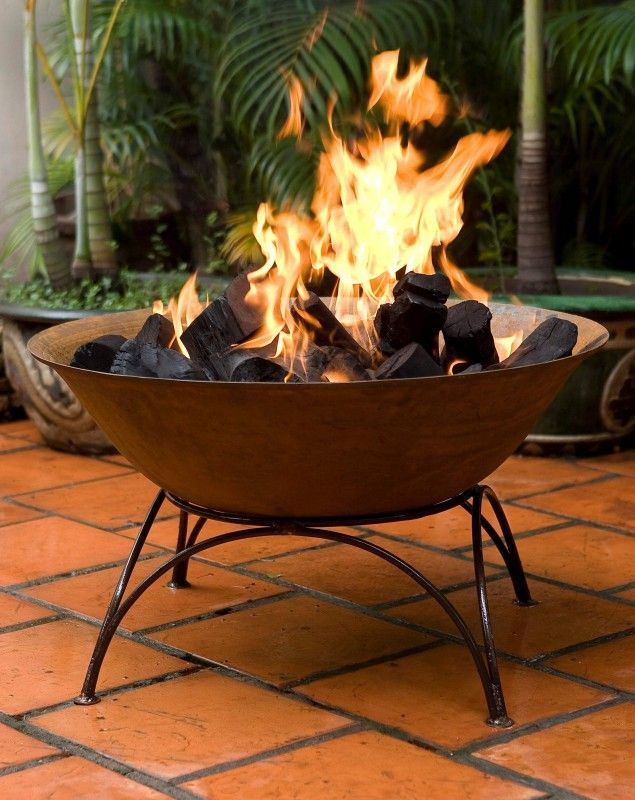 Heavy Duty Deep Cast Iron Bowls With Stands Suitable For Us As Fire Pit Water Feature Or Planter Braseiras De Quintal Lareira Externa Fogueira