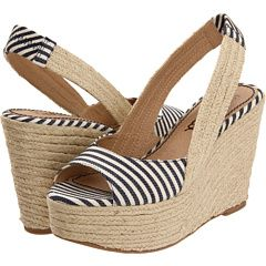 Wedges, so French. Everyone wears them in the south of France.