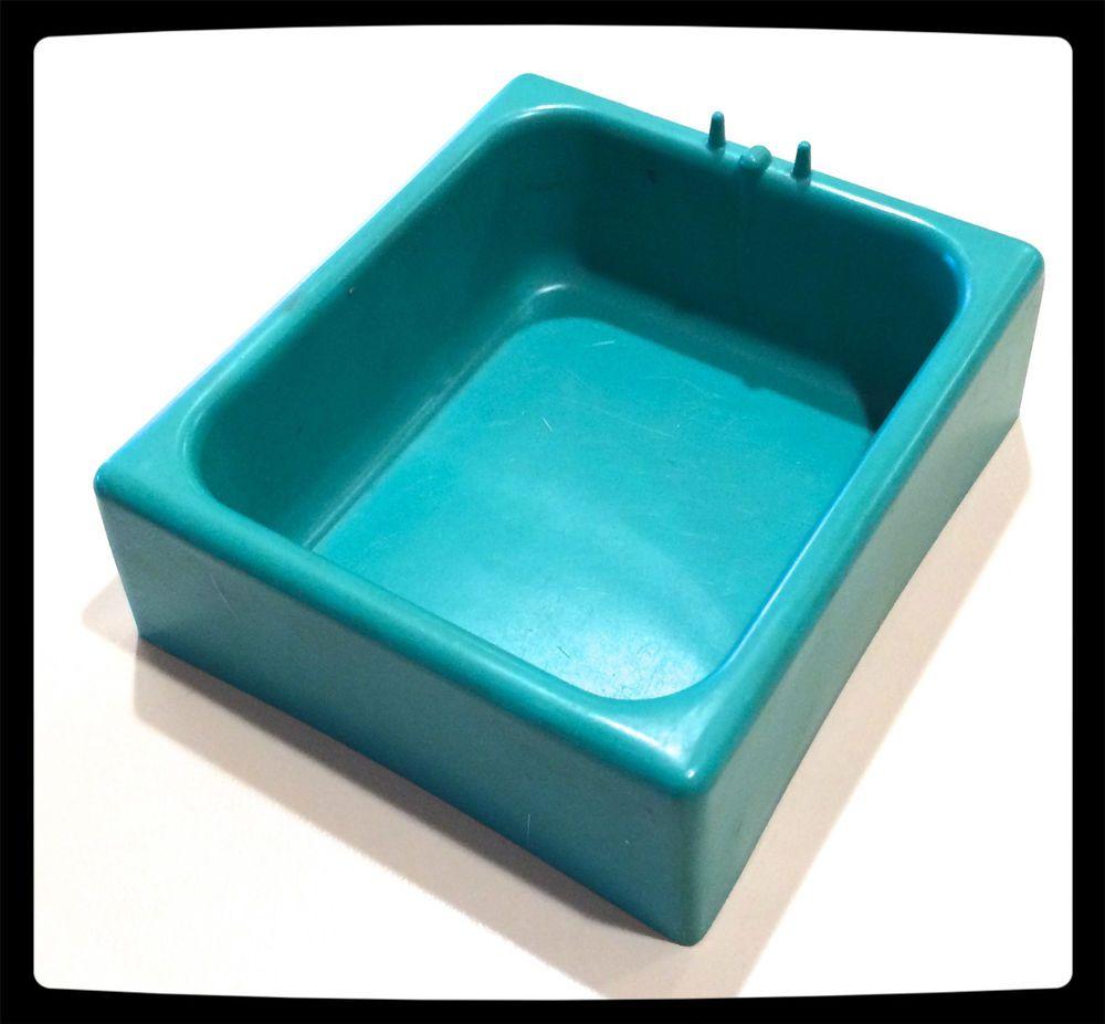 VTG ❤ BARBIE ❤ SMALL TEAL/GREEN BATHTUB TUB ❤ SQUARE (67 ...