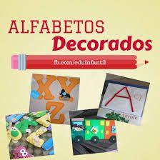 Resultado de imagem para alfabeto para pintar decorado