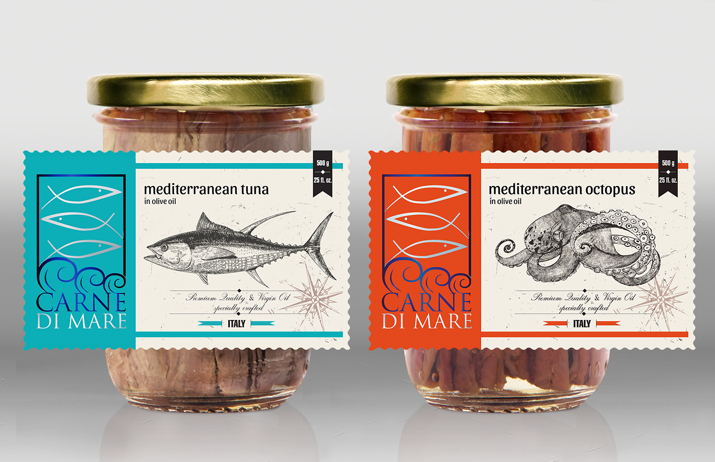 Storage industry canned and preserved fish and seafood