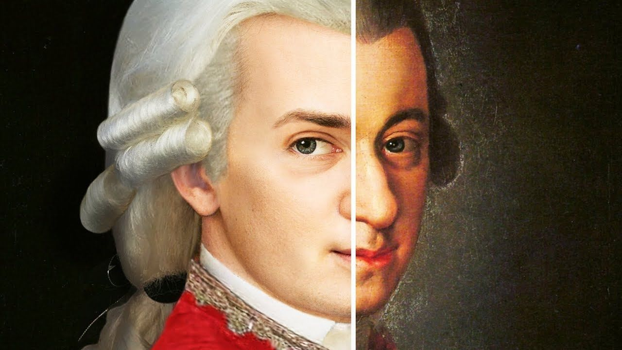How Mozart Looked In Real Life Mit Bildern Think