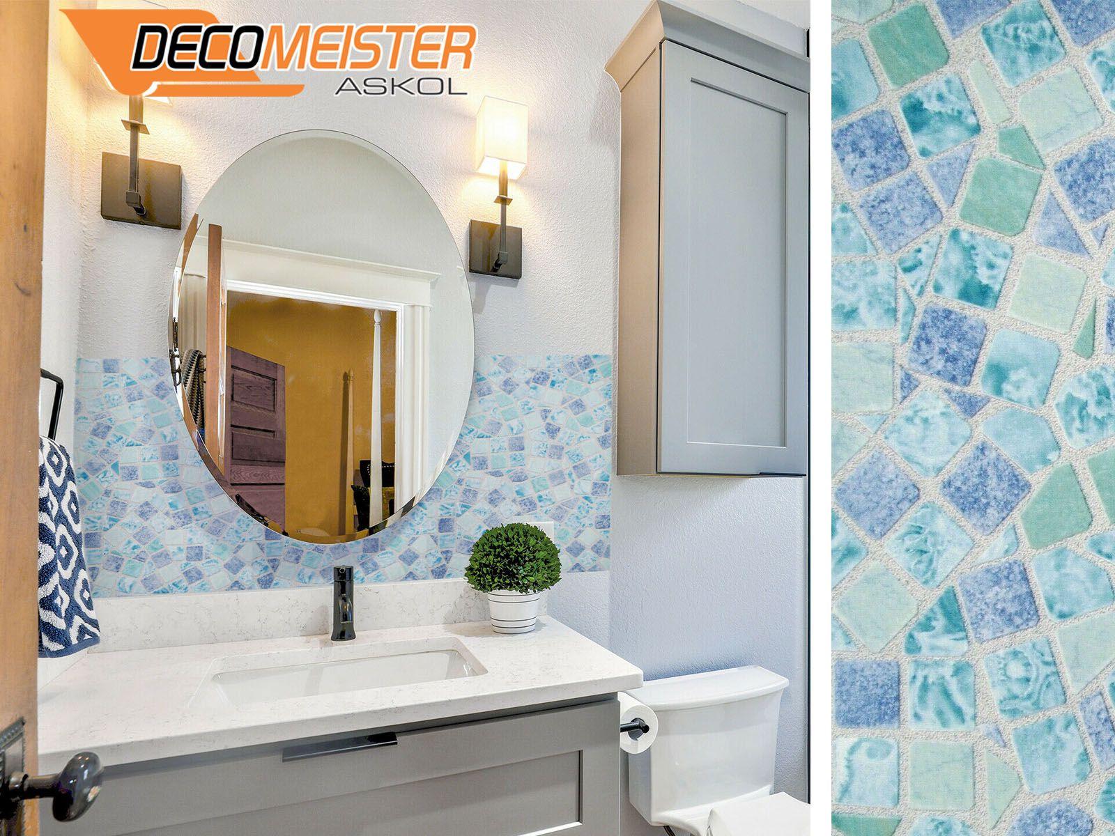 Details Zu Klebefolie 10 M Gekkofix Mosaik Blau Mobel Selbstklebefolie Marmor Fototapete Klebefolie Blaue Mobel Fototapete