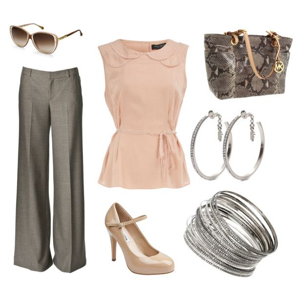 Simply Pink, created by on Dorothy Perkins Steve Madden. Great outfit for  church services or dressing up.