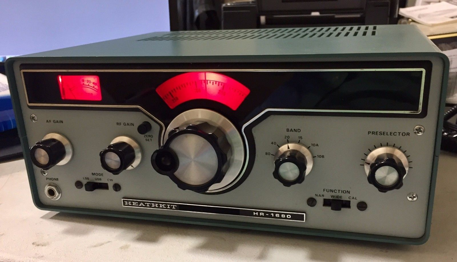 Heathkit HR-1680 SWL Shortwave Receiver in exceptional condition | eBay