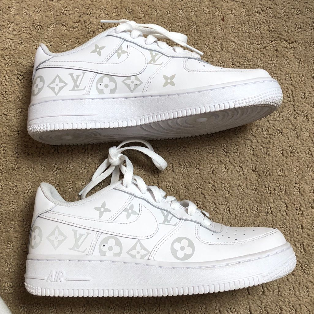 7 Size Womens Louis Nike ShoesNew Air Vitton Custom bfy76YmIvg