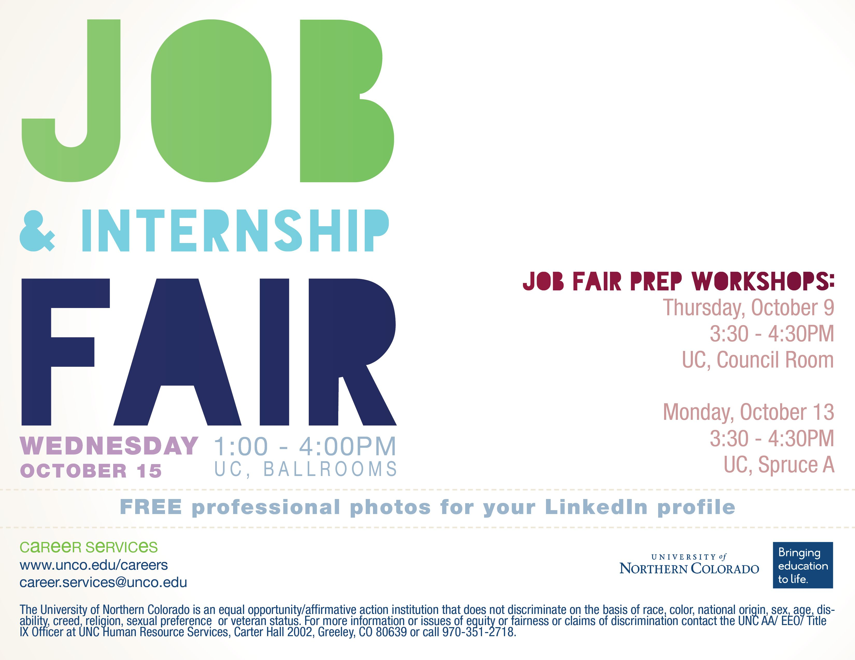 Meet Employers Find That Job Or Internship Free To Attend Come