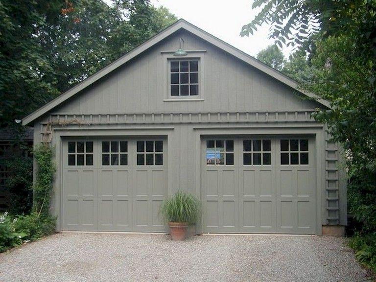 62 Stunning Garage Doors Design Ideas Garage Pour Voiture Maison Et Plan Maison