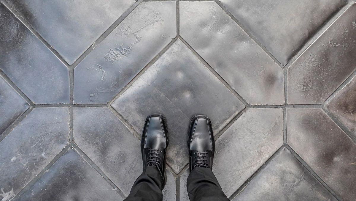 Arto Tile Artillo Concrete Chracoal Grey With Sealer